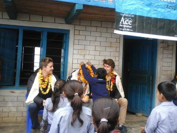 Community volunteering in Nepal