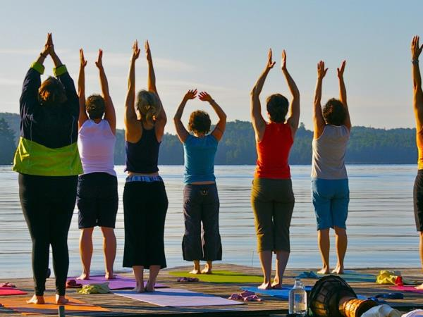 Yoga and SUP retreat in Canada