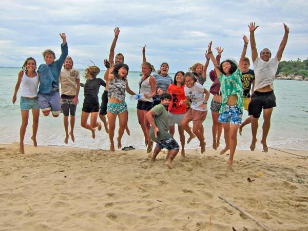 Marine conservation holiday in Thailand