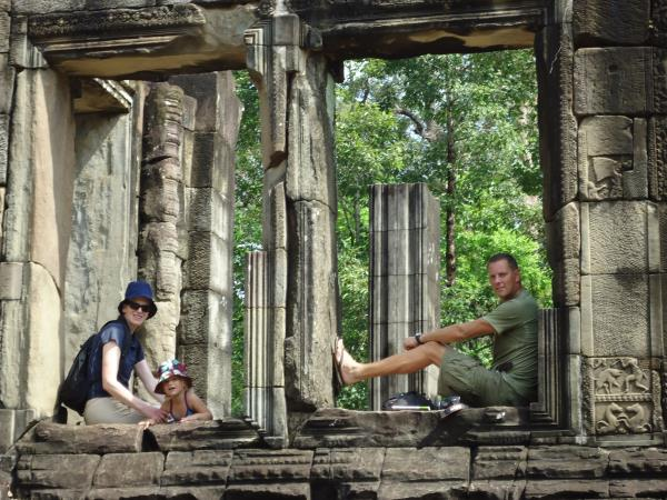 Exciting family holiday in Cambodia