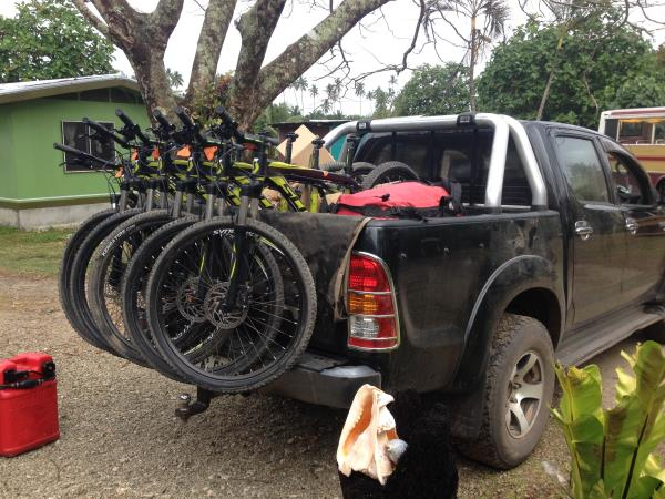 Fiji cycling holiday