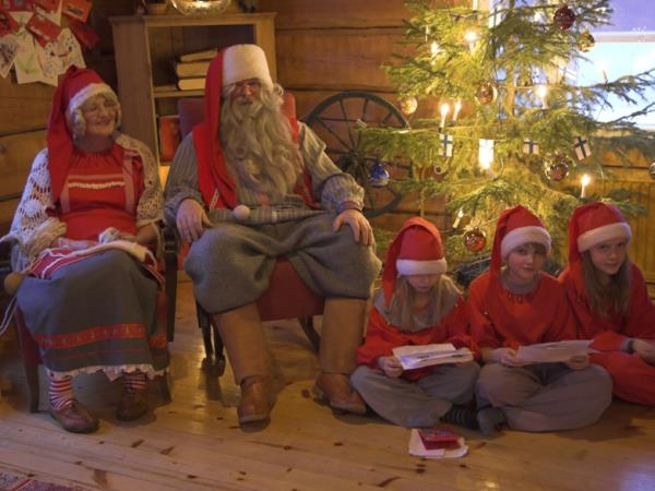 Family multi activity holiday in Finland with Santa