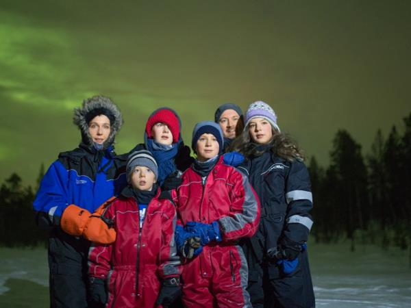 Northern Lights Family Christmas in Lapland