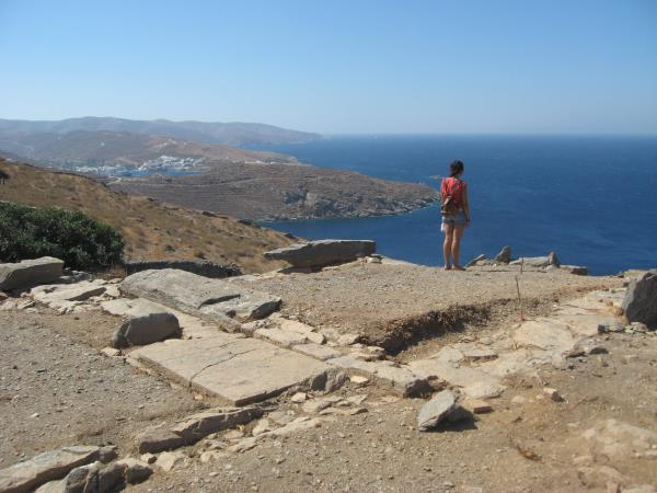 Greece walking holiday, Kythnos