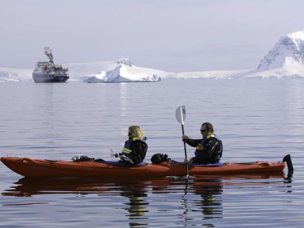 Antarctic Peninsula cruises, activity-based