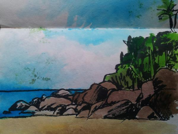 Sri Lanka sketching and painting holiday