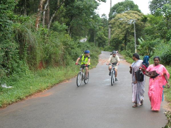 Cycling holidays in Kerala