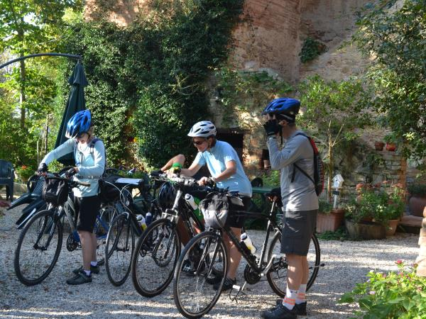 Umbria self guided cycling holiday, Italy