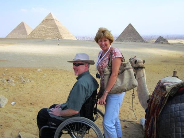 Wheelchair accessible Nile cruise, Egypt