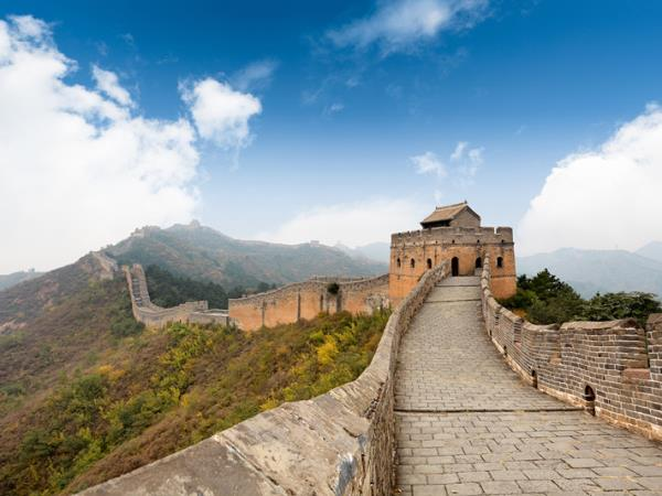 Beijing Great Wall hiking tour, 7 days