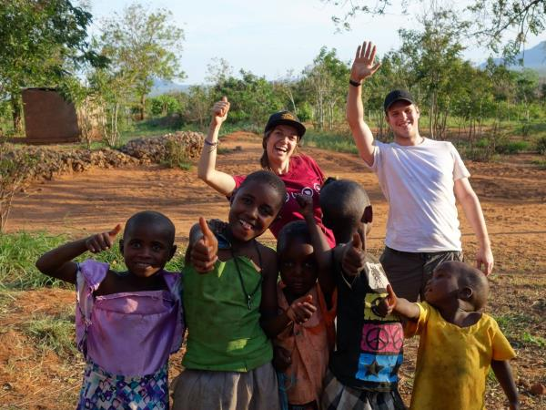 Community volunteering experience in Kenya