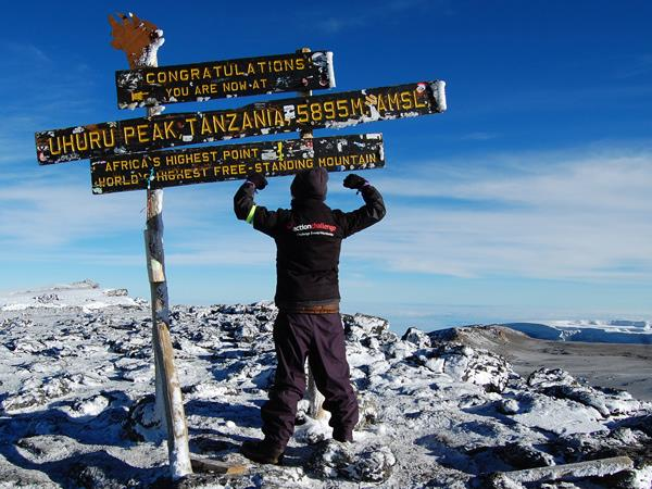 Mount Kilimanjaro trekking holiday, Machame route