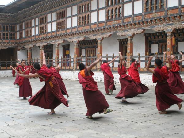 Buddhism cultural holiday in Bhutan