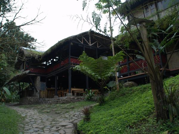 Maquipucuna cloud forest lodge, Ecuador