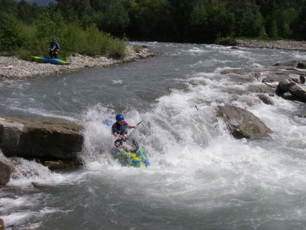 Kayaking holidays in the French Alps