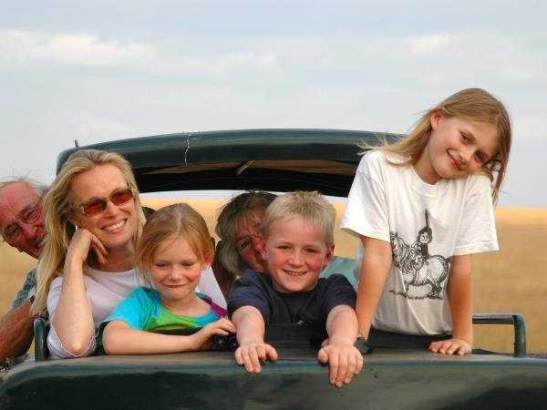 Exciting family holiday in Tanzania