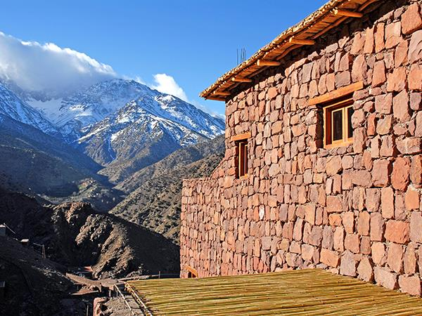 Luxury trekking holiday in the Atlas Mountains