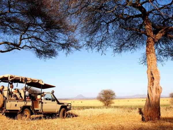 Camping safari in the Serengeti, Tanzania