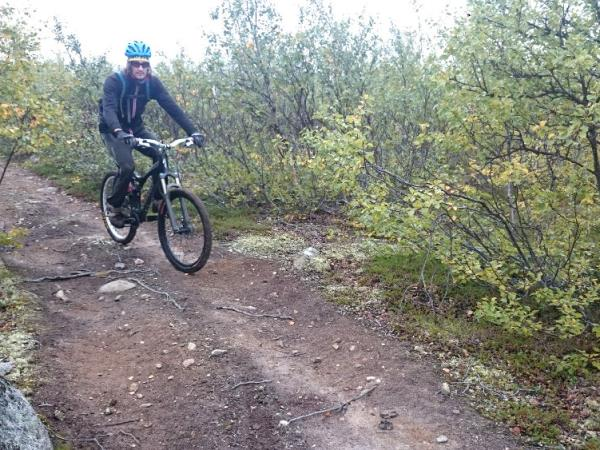 Mountain biking holiday, Finnish Lapland