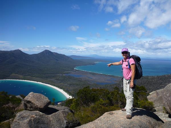 Tasmania coastal walking holiday, Australia