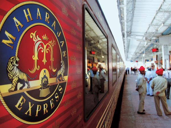Maharajas Express luxury train journey in India