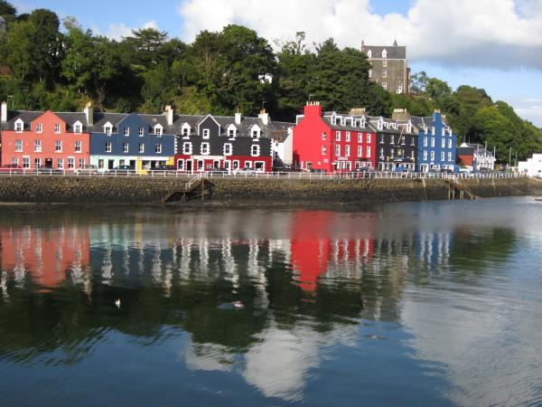 Isle of Mull and west coast of Scotland cruise