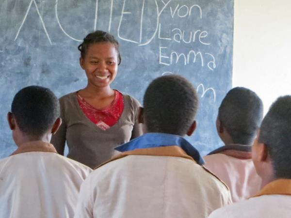 Teaching English in Madagascar