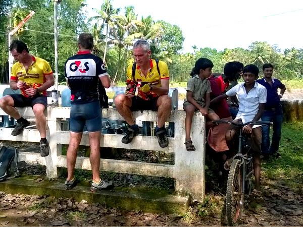 Walking and cycling holiday in Kerala, India