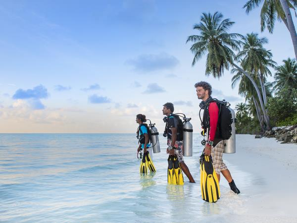 Diving holiday in the Maldives, local experience
