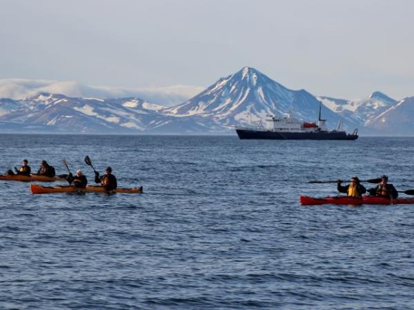 Kuril Islands cruises, bird watching cruise, Russia