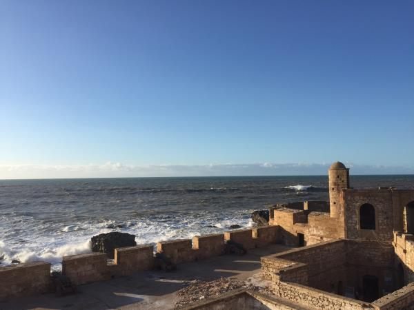 Essaouira short break yoga activity holiday in Morocco