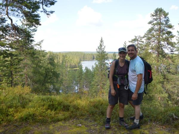 Finland hiking holiday