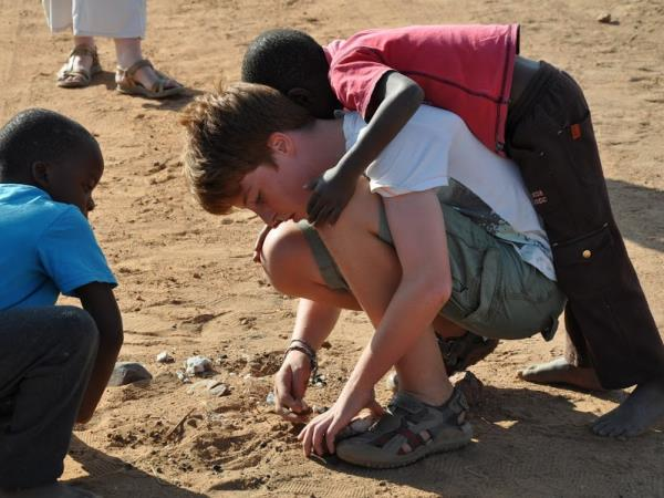 Family volunteering and safari holiday, South Africa