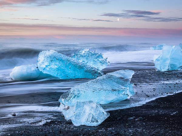 Northern Lights, glaciers & ice photography holiday Iceland