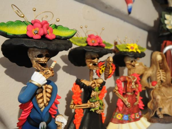 Mexico holiday, Day of the dead festival
