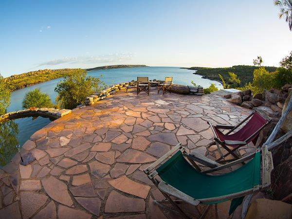 Kimberley wilderness accommodation, Western Australia