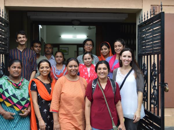 Kolkata community volunteering, India