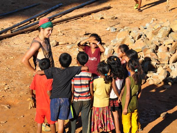 Family volunteering and adventure holiday, Nepal