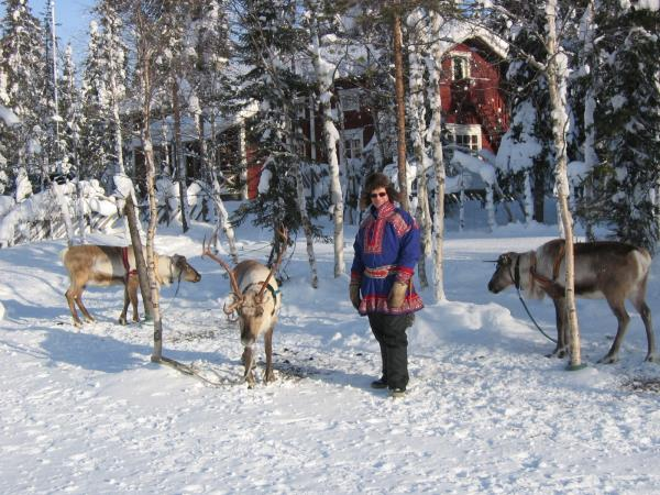 Family holiday in Finnish Lapland, pick and mix activities