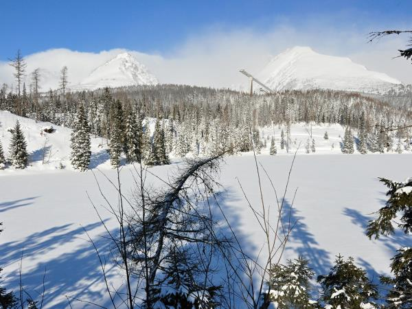 Tatras mountains winter holiday in Slovakia