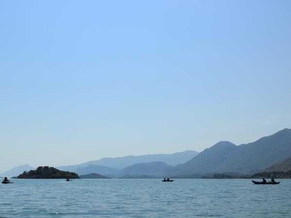 Canoeing holiday in Montenegro, Lake Skadar