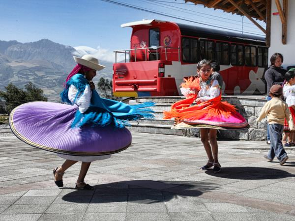 Ecuador by train holiday, culture and nature