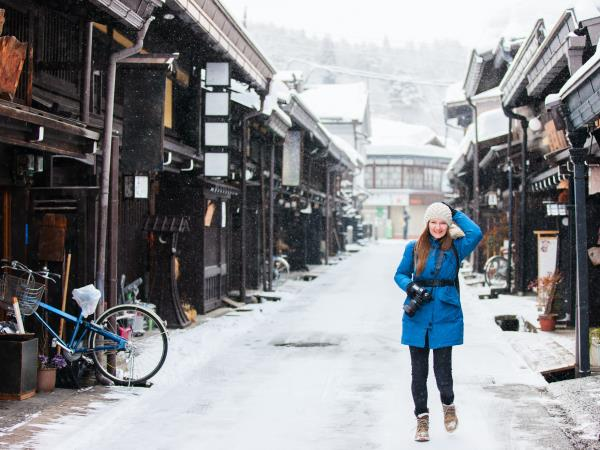 Nakasendo Trail winter tour, Japan