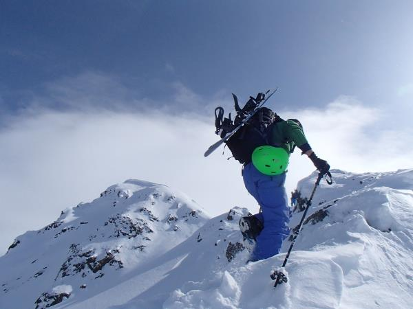 Ski touring and splitboard course in Austria