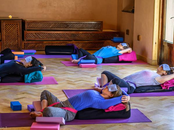 Morocco yoga holiday at the Kasbah du Toubkal
