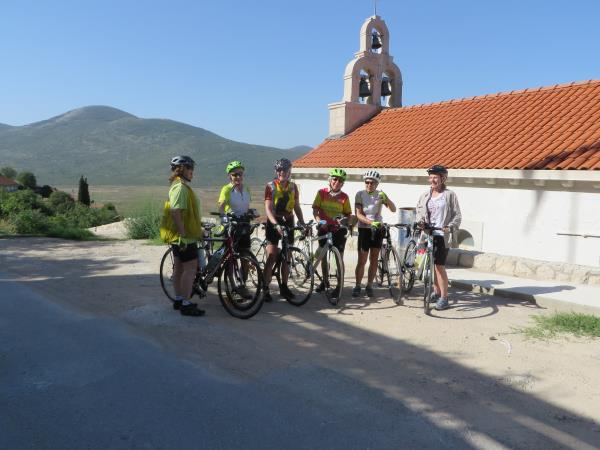 Croatia cycling holiday, Dalmatian wine roads