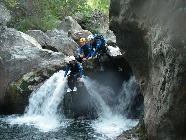 Canyoning holiday in the Pyrenees