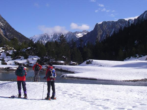 Snowshoeing holiday in the French Pyrenees