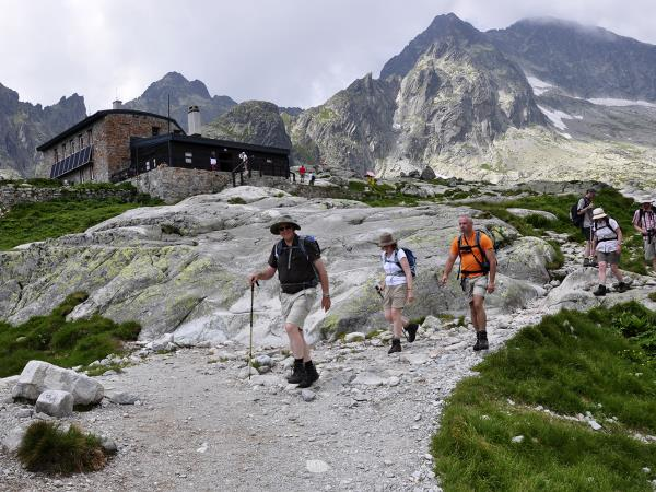 Self guided High Tatras trekking holiday in Slovakia