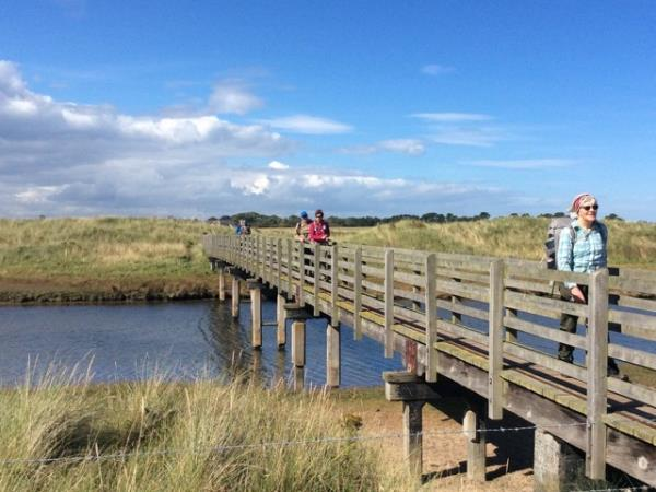 Self guided walking on the Northumberland Coast